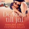 Vicktoria Gilles ja Shailene Craig - De kom till jul - erotisk julnovell