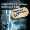 Mord på viborgskt sätt - äänikirja