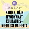 Meri Mort - Nainen, näin hyödynnät kuukautiskiertosi vaiheita