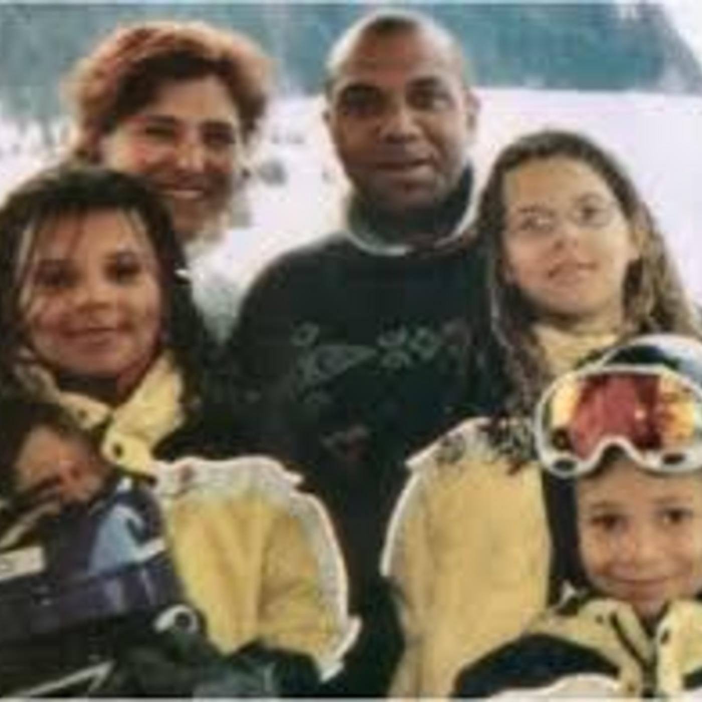 52: Xavier Flactif, Graziella Ortolano ja lapset Sarah, Laetitia ja Gregory